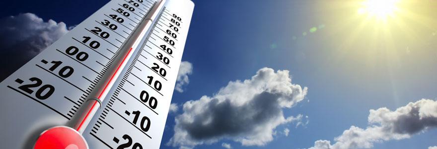 la température moyenne