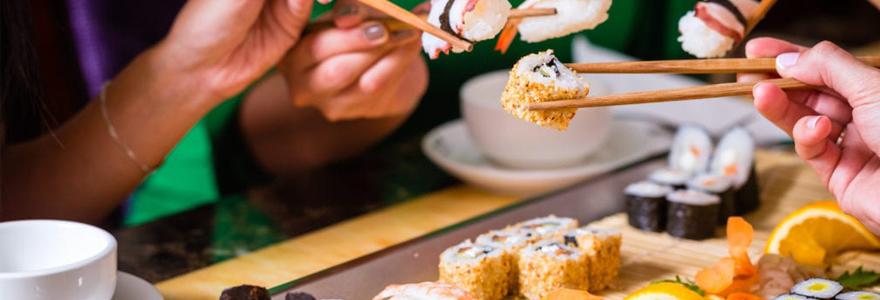 Sushi à Paris